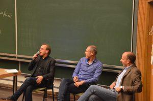 Jacco Pekelder, Eddo Evink en Ronald Tinnevelt