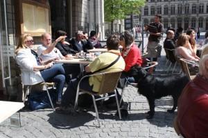 Leuven allemaal op een terrasje